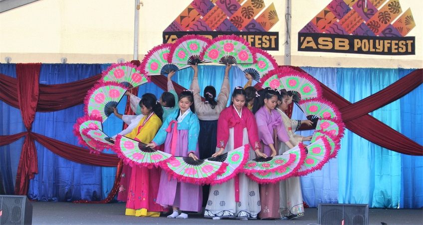 Polyfest-Korean Group- by Harry Ward-Hayes