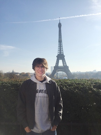 My Time In Paris by Lachlan Andrerw